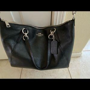 Coach Small Kelsey Satchel black bag